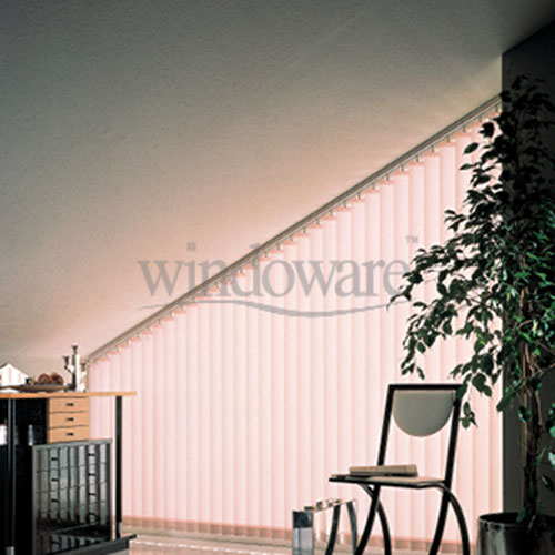 Angled Vertical Blinds
