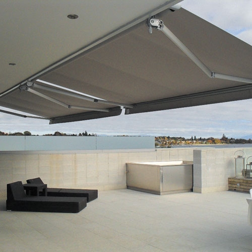 Fabric Folding Arm Awning